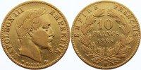 10 Francs 1865  BB Frankreich Napoleon III. 1852-1870. GOLD, knapp sehr... 160,00 EUR  +  4,50 EUR shipping