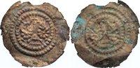 Brakteat 1249-1289 Hohnstein Heinrich II. ...
