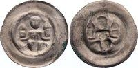 Brakteat 1236-1241 Halberstadt, Bistum Lud...