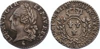 1/20 Écu 1 1779  A Frankreich Ludwig XVI. ...