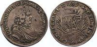 1/6 Taler 1689  IK Sachsen-Albertinische L...