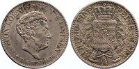 1/6 Taler 1836  G Sachsen-Albertinische Li...