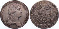 Ausbeutetaler 1786 Sachsen-Albertinische L...