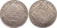 20 Kreuzer 1773 Bayern Maximilian III. Jos...