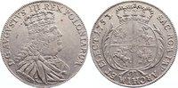 Tympf 1753 Sachsen-Albertinische Linie Fri...