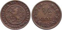 Cu 1/2 Cent 1898 Niederlande-Königreich Wi...