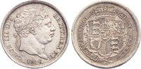Shilling 1816 Großbritannien George III. 1...