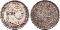 Shilling 1820 Großbritannien George III. 1...