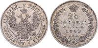 25 Kopeken 1849 Russland Nikolaus I. 1825-...