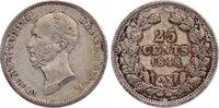 25 Cents 1848 Niederlande-Königreich Wilhe...