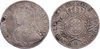 1/2 Écu aux branches d´olivier 17 1729  B ...