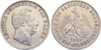 Ausbeute Gulden 1852 Baden-Durlach Leopold...