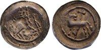 Pfennig 1245-1260 Straßburg, Bistum Heinri...