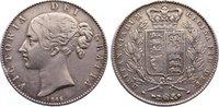 Crown 1845 Großbritannien Victoria 1837-19...