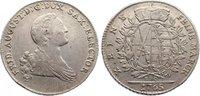 Taler 1765 Sachsen-Albertinische Linie Fri...
