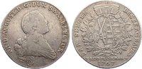 Ausbeutetaler 1767 Sachsen-Albertinische L...