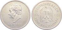 5 Reichsmark 1932  A Weimarer Republik Ged...