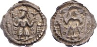 Brakteat 1146-1154 Dänemark Anonym Nordjüt...