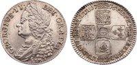 Shilling 1745 Großbritannien George II. 17...