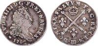 5 Sols aux insignes 1702  BB Frankreich Lu...
