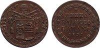 Cu 1/2 Baiocco 1831  R Italien-Kirchenstaa...