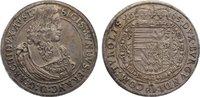 Taler 1665 Haus Habsburg Erzherzog Sigismu...