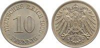 10 Pfennig 1900  A Kleinmünzen  fast Stemp...