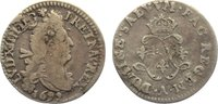 4 Sols aux 2 L 1692  A Frankreich Ludwig X...