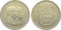 2 Kronen 1923 Dänemark Christian X. 1912-1...
