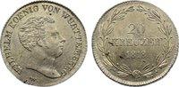 20 Kreuzer 1818  W Württemberg Wilhelm I. ...