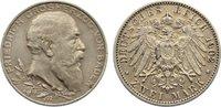 2 Mark 1902  G Baden Friedrich I. 1856-190...