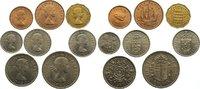 6 Pence 1956 Großbritannien Elisabeth II. ...