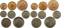 6 Pence 1949 Großbritannien George VI. 193...