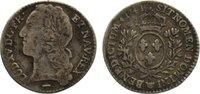 1/10 Écu au bandeau 1 1741  W Frankreich L...