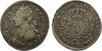 1/5 Écu 1 1788  MA Frankreich Ludwig XVI. ...