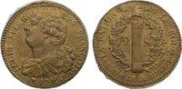 2 Sols 1792  BB Frankreich Ludwig XVI. 1774-1793. Randfehler, sehr schön  125,00 EUR  +  4,50 EUR shipping