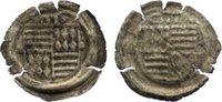 Hohlpfennig 1486-1526 Mansfeld Günther IV....