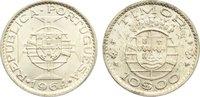 10 Escudos 1964 Timor portugiesische Kolon...