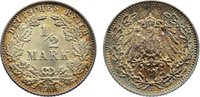 1/2 Mark 1906  E Kleinmünzen  Stempelglanz