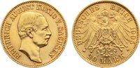 20 Mark Gold 1905  E Sachsen Friedrich Aug...
