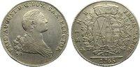 Taler 1765 Sachsen-Albertinische Linie Friedrich August III. 1763-1806.... 125,00 EUR  +  4,50 EUR shipping