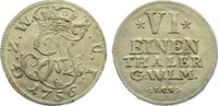 1/6 Taler 1756 Wied-Neuwied Johann Friedrich Alexander 1737-1791. vorzü... 175,00 EUR  +  4,50 EUR shipping