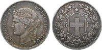 5 Franken 1908  B Schweiz-Eidgenossenschaft  kl. Randfehler, kl. Kratze... 140,00 EUR  +  4,50 EUR shipping