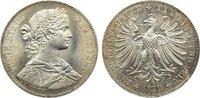 Taler 1859 Frankfurt, Stadt  kl. Kratzer, vorzüglich - Stempelglanz  225,00 EUR  +  4,50 EUR shipping