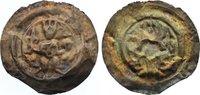 Brakteat 1191-1215 Altenburg, königliche M...