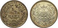 1/2 Mark 1908  G Kleinmünzen  sehr schön  10,00 EUR  +  1,50 EUR shipping