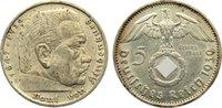 5 Reichsmark 1939  E Drittes Reich Kursmünzen 1933-1945. kl. Kratzer, s... 30,00 EUR  +  4,50 EUR shipping