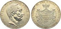 Doppeltaler 1843  A Lippe-Detmold Paul Alexander Leopold 1820-1851. min... 1000,00 EUR free shipping