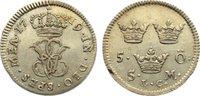 5 Öre 1 1719 Schweden Ulrika Eleonora 1718-1720. sehr schön +  165,00 EUR  +  4,50 EUR shipping