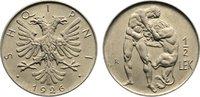 1/2 Lek 1926  R Albanien Ahmet Zogu, Präsident 1925-1928. fast Stempelg... 50,00 EUR  +  4,50 EUR shipping